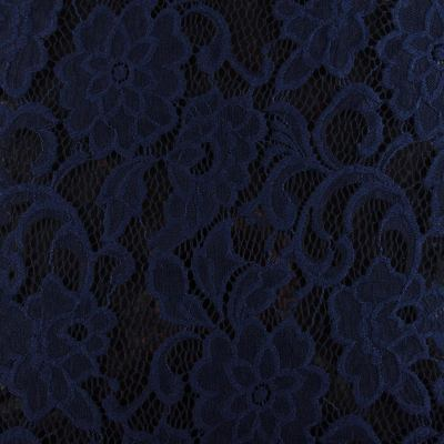Гипюр синий ( цветок) VT-635