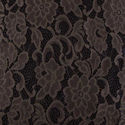 Гипюр коричневый ( цветок) VT-638