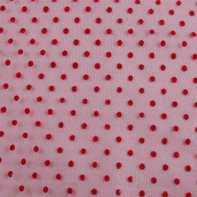 Сетка флок FT- 1771-D3 (красная)