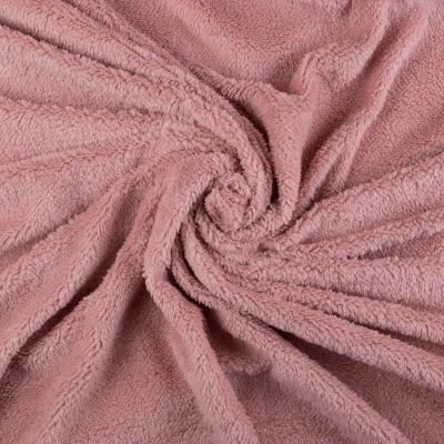 Подкладочная ткань (мех, бледно-розовый) VT-839