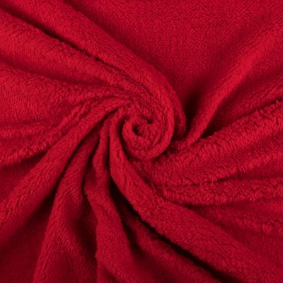 Подкладочная ткань (мех, красный) VT-844