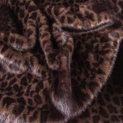 Мех средневорсовый принт (леопард) VT-886-С1