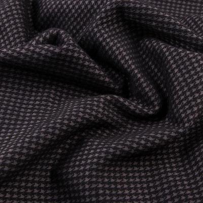 Трикотаж плотный пальтовый (черно-серая лапка) МT-12114(5678)-D1-C1