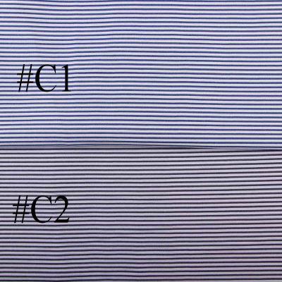 Рубашечная (сорочечная) ткань коттон (принт полоска мелкая) ЕT-9035-056-D6-C1-C2