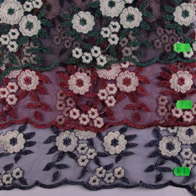 Сетка с вышивкой и люрексом ОT-1846-С2-С4