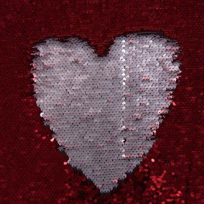 Пайетка двусторонняя (матовый красный) ОT-1887-С4