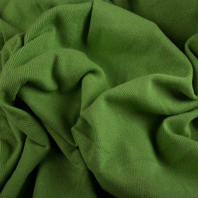 Рибана х/б (манжетная резинка) оливка VT-925