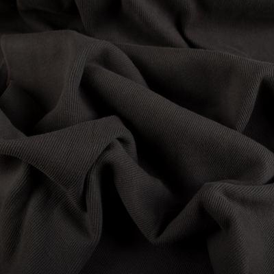 Рибана х/б (манжетная резинка) темно-серый VT-929