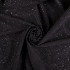 Коттон люрекс (Звездное небо, черный) VT-953