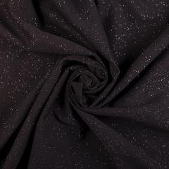 Коттон люрекс (Звездное небо, черный с отливом хаки) VT-955