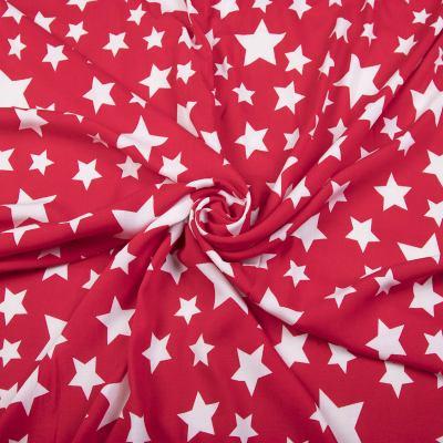 Штапель (белые звезды на красном) VT-1028
