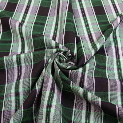 Рубашечная (сорочечная) ткань коттон (принт) MLN-0819-1