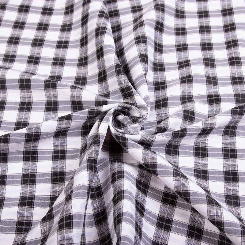 Рубашечная (сорочечная) ткань коттон (принт) MLN-0819-2