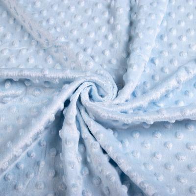 Плюш Минки (пупырышки-голубые) VT-1082-С4
