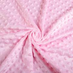 Плюш Минки (пупырышки-светло розовые) VT-1082-С6