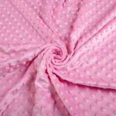 Плюш Минки (пупырышки-розовые) VT-1082-С9