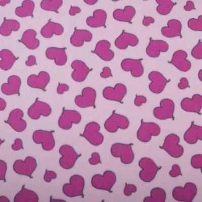 Флис POLAR (розовые сердечки на розовом) VT-1085-C2