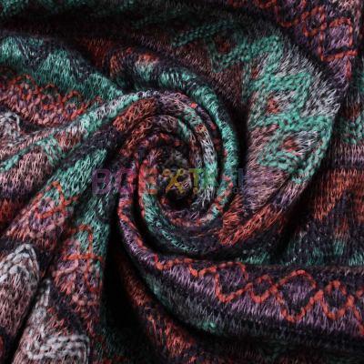 Вязанное трикотажное полотно на флисе Мексикано ZT-17084-C4