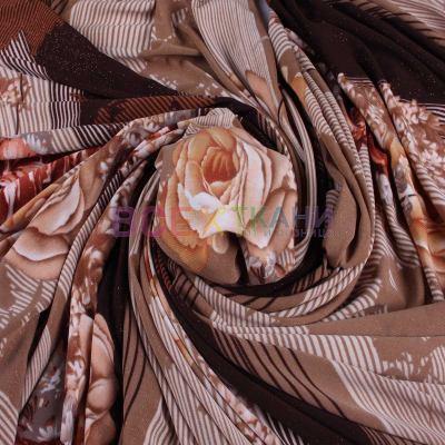 Масло принт розы (коричневые) VT-D8-C5