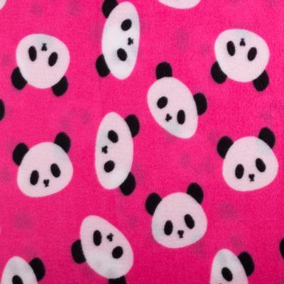 Флис POLAR (панды на розовом) VT-856