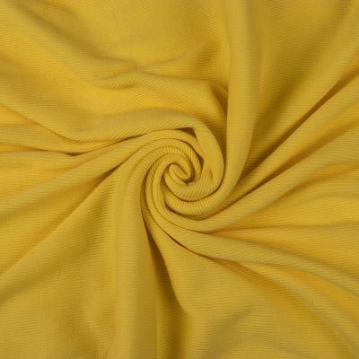 Рибана (манжетная резинка) желтая VT-868