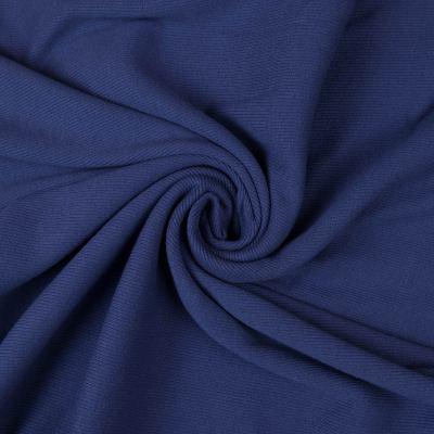 Рибана (манжетная резинка) темно-синяя VT-869