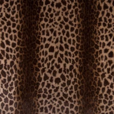 Мех средневорсовый принт (леопард) VT-886-С4