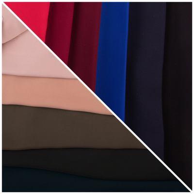 Костюмная (брючная) стрейчевая ткань Креп-костюмка ЕT-D-8979-Art-047-C1-C11