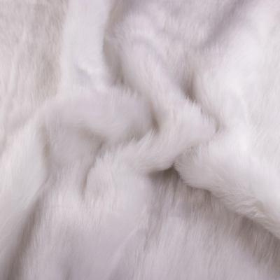 Мех длинноворсовый белый VT-893