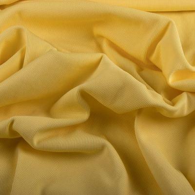 Рибана эластик (манжетная резинка) лимонная VT-926