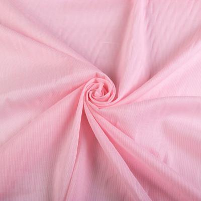 Рубашечная ткань коттон (полоска на ало-розовом) VT-1004