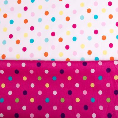 Батист принт (разноцветные кружки) VT-1010-С1-2
