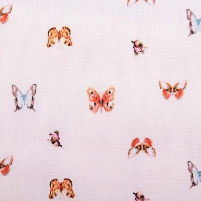 Рубашечная (сорочечная) ткань х/б бабочки VT-1057