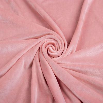 Велюр плюш (нежно розовый) VT-1129