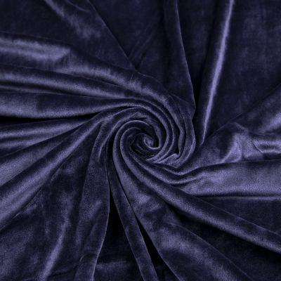 Велюр плюш (т. синий) VT-1131