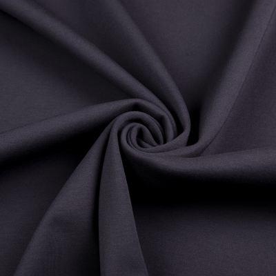 Двунитка на меху пенье (чёрный с чёрным мехом) VT-1136-C2