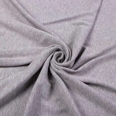 Трикотаж Рибана (серый) VT-1215-C1
