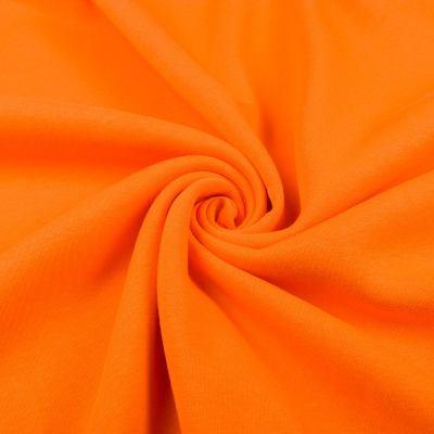Трикотаж Трёхнитка начёс пенье (оранжевая) VT-1258