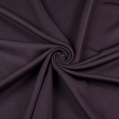 Искусственная замша на дайвинге (серый замш + т. коричневый дайвинг) VT-1270
