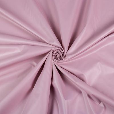 Курточная (плащёвая) ткань лаке (розовый) VT-1271