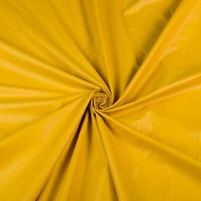 Курточная (плащёвая) ткань лаке (горчица) VT-1273