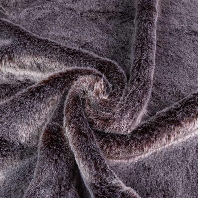 Мех Волк средневорсовый (коричневатый) VT-1280-C1