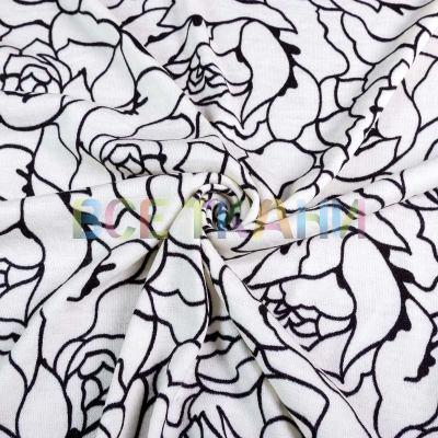 Ангора принт (розы белые) VT-1312-C1