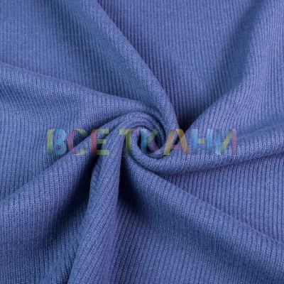 Вязаное плотное трикотажное полотно Кардиган (тёмно-голубой) VT-586