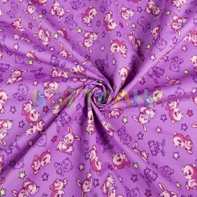 Плащёвая (курточная) ткань принт Аляска VT-1324-C2