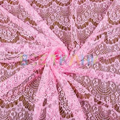Гипюр реснички (розовый) VT-1339