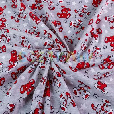 Кулир принт (зайчики красные) VT-1373