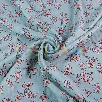Штапель (цветы на мяте) VT-1394-C1