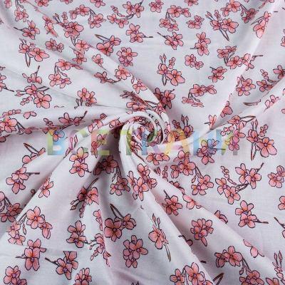 Штапель (цветы на белом) VT-1394-C2