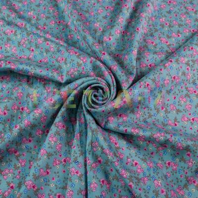 Штапель (цветы на мяте) VT-1395